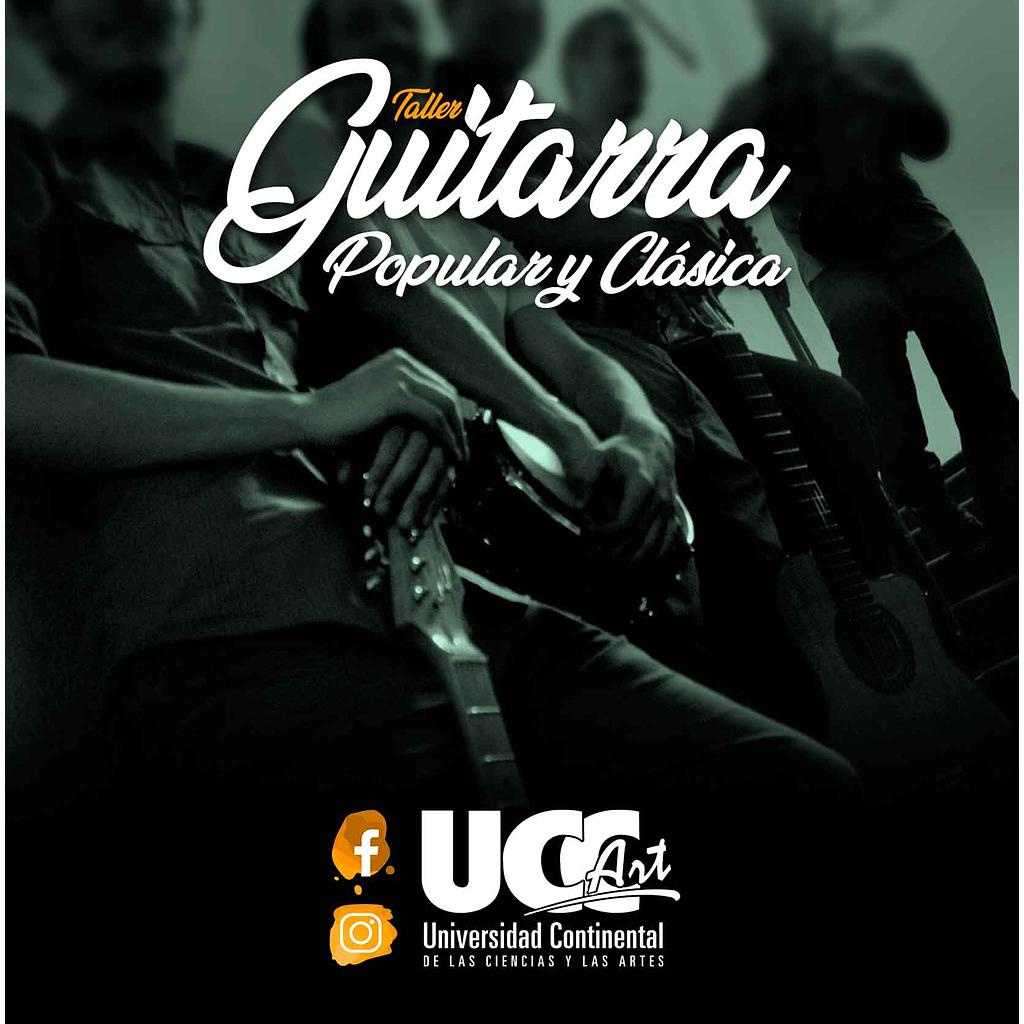 Guitarra Popular y Clásica